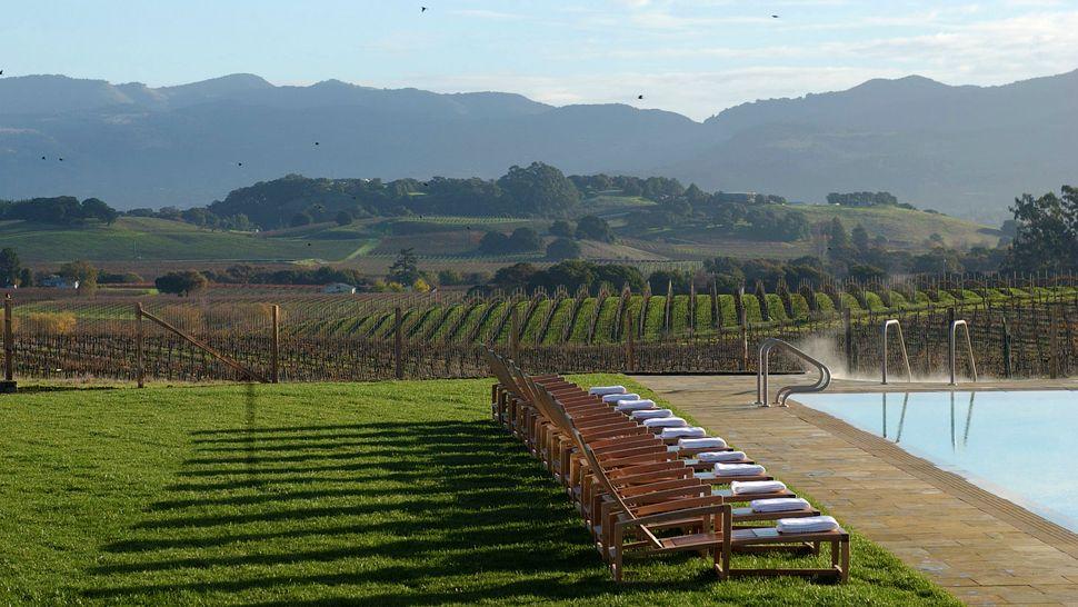 Vinho charme e muito romance the carneros inn em napa for Carneros inn napa valley