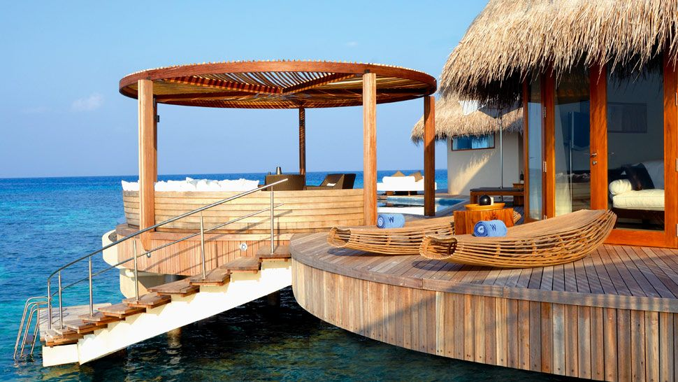 top 5 os cinco melhores bangal s sobre as guas no mundo On w retreat and spa maldives maldives