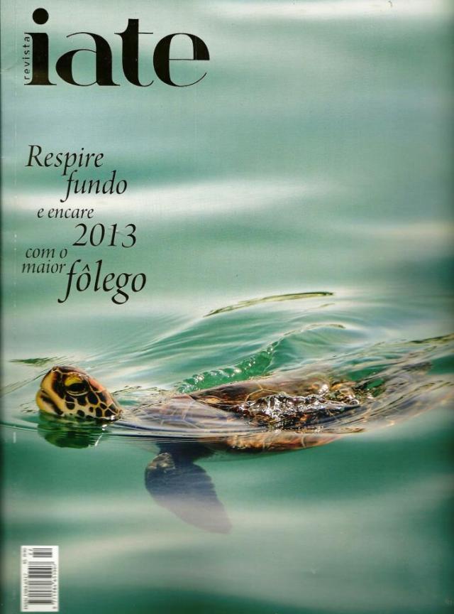 Revista Iate capa - dezembro 2012