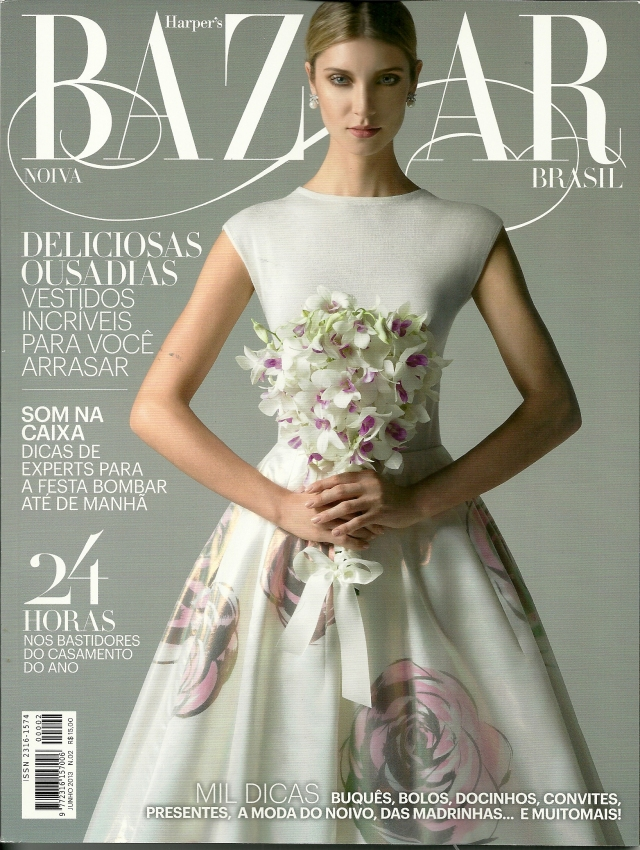 capa revista bazaar noivas maio13